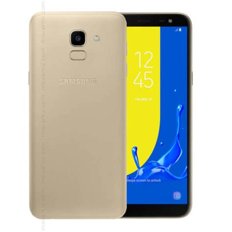 samsung galaxy j6 2018 gold 32gb and 3gb ram sm j600f 8801643299583 movertix mobile
