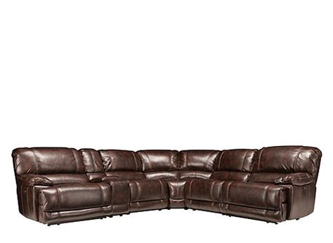 bellanest sectional dowling 6 pc power reclining sectional sofa sectional