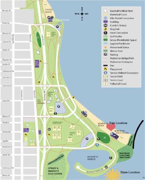 map of chicago lakefront special events everyday medicine susan lipshutz