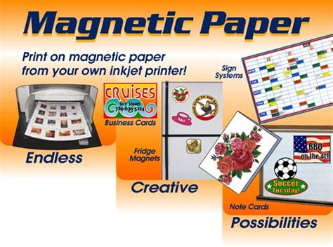 printable vinyl officeworks magnet paper