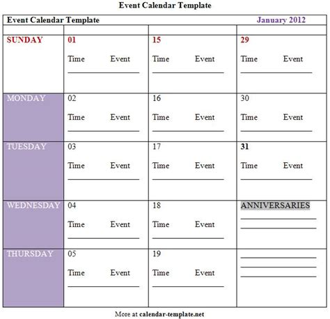 spanish schedule weekly plan template for classes daily activities