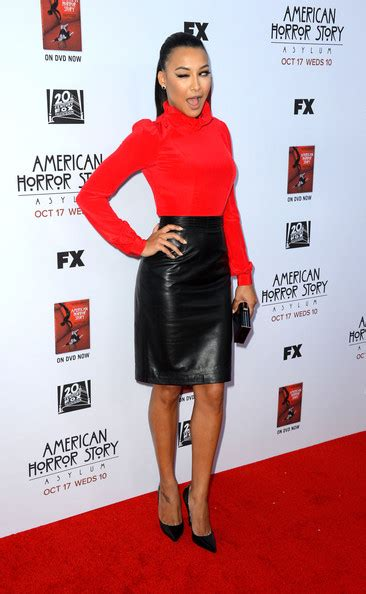 american horror story asylum premiere five minutes on huffpost naya rivera photos premiere screening of fx s quot american horror story asylum quot arrivals