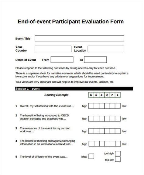 sle feedback form template format for feedback form 100 images evaluation form