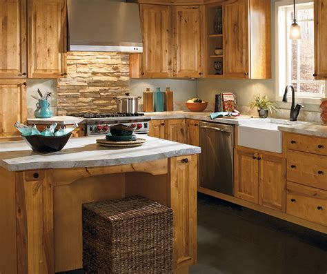 rustic kitchen cabinets pictures rustic kitchen by aristokraft featured masterbrand