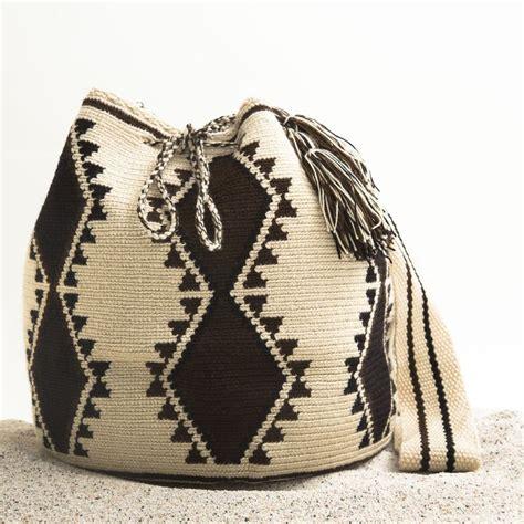 tutorial tas rajut tribal guajira mochila bag wayuu tribe handmade bohemian bags