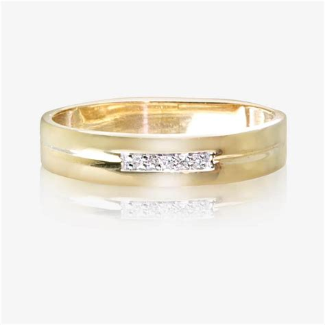 9ct gold wedding ring 4mm