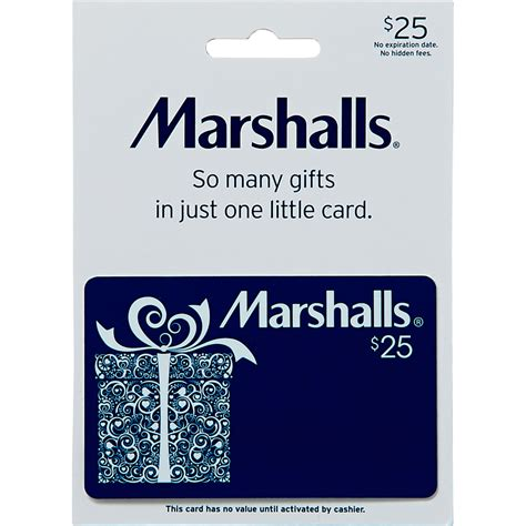 Tjx Gift Card - marshalls gift card shoes apparel gifts food shop the exchange