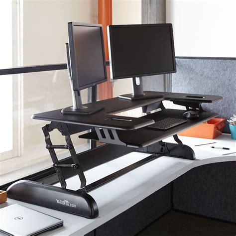 Standing Desk Pro Plus Series Varidesk Desk Extension Desk Extender For Standing