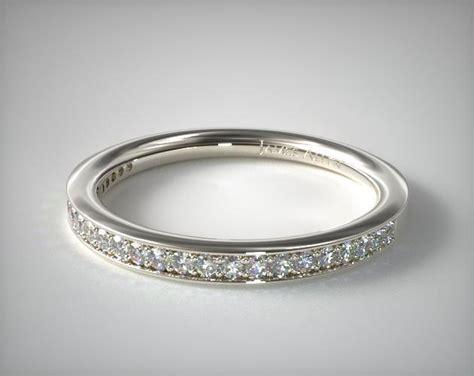 Wedding Bands Allen by Matching Pave Wedding Band Platinum Allen 14951p
