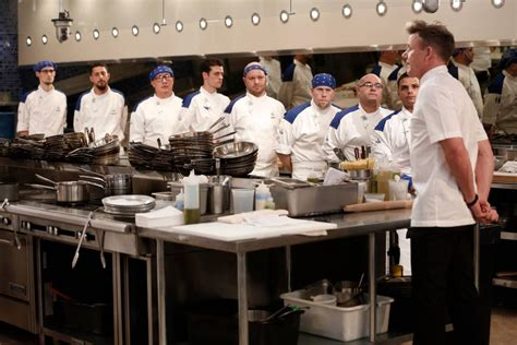 Hell S Kitchen Season 15 by Local Chef Alan Serves Appetizer To Astronaut Buzz