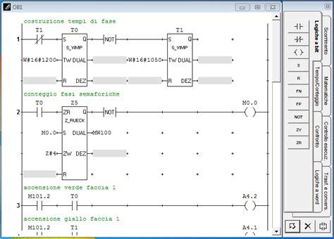 simulatore porte logiche autoware aw sys simulatore di plc e impianti ladder