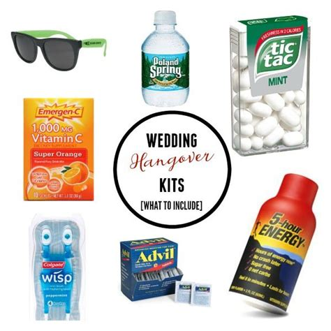 Wedding Media Kit by 25 Best Ideas About Hangover Kits On
