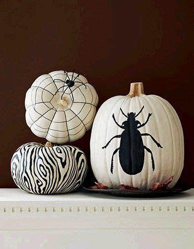black white painted pumpkins fall halloween thanksgiving pi