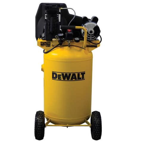 shop dewalt 30 gallon portable electric vertical standard 71 decibel or above air compressor