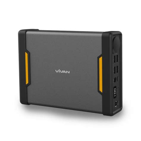 Powerbank Vivan 13 000 Mah vivan bb64 62400mah capacity power bank black