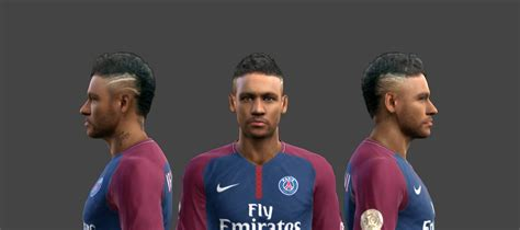 download hairstyles pes 2013 pes 2013 neymar jr new face hair and tattoo v26 8 by
