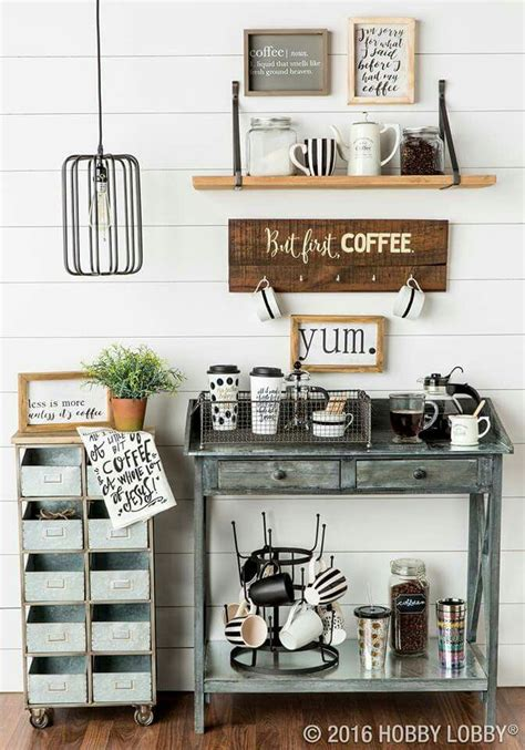 coffee nook ideas best 25 coffee nook ideas on pinterest coffee area tea