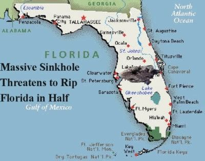 sinkhole threatens to rip florida in half humor