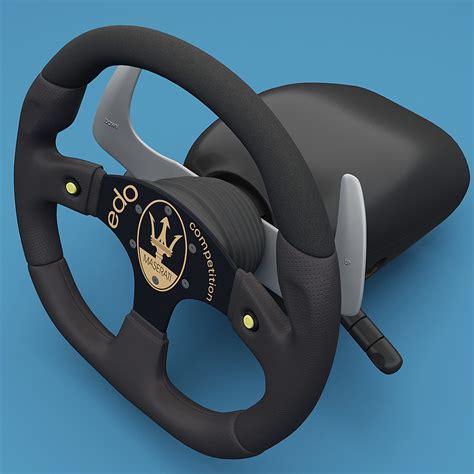 maserati steering wheel 3d maserati steering wheel 2