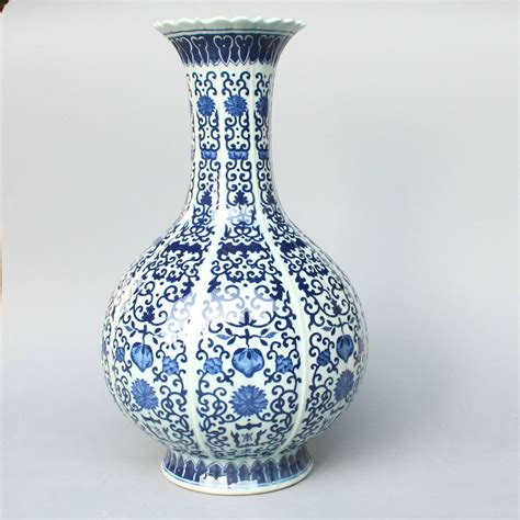 ryxy06 15 5 inch vases blue and white vases in