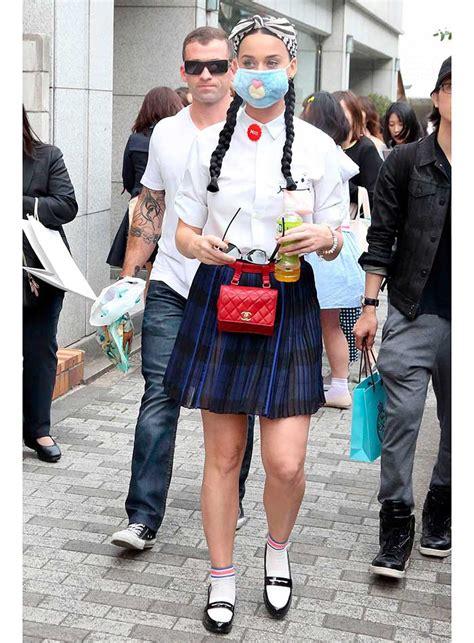Korean Fashion Impress Bag Broken White Tas Fashion Ko Grosir 1 katy perry se veste como uma school e usa m 225 scara