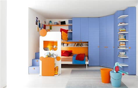 Child Room Furniture Design by Room Room Blue Themed Boy Bedroom With