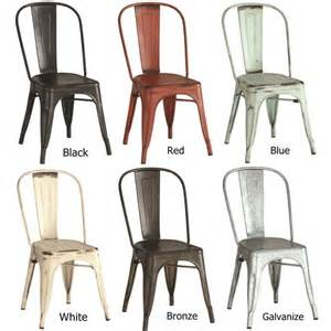 metal dining room chair 25 best ideas about metal dining chairs on