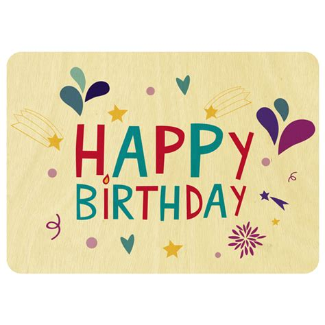 Happy Birthday Gift Card Design | card invitation design ideas fireworks happy birthday