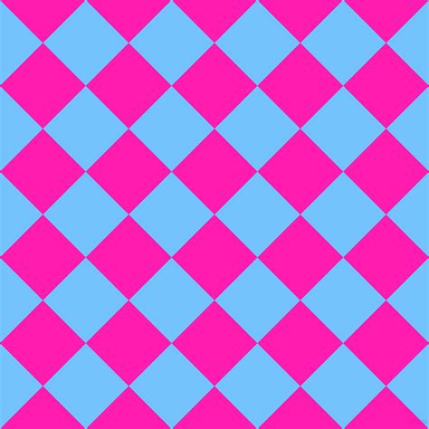pattern pink and blue spicy pink and maya blue checkers chequered checkered