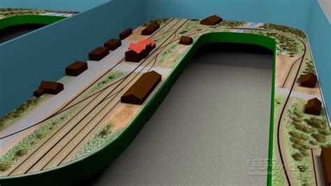 train layout animation 3d track plans the ho scale wadley branch lines