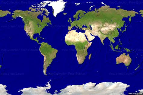 image of world map for primap world maps