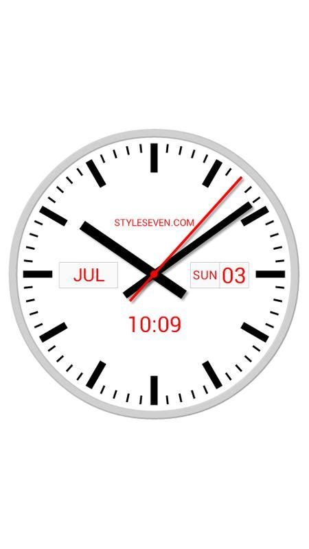 Swiss Time Analog Digital swiss analog clock 7 apk free tools app for