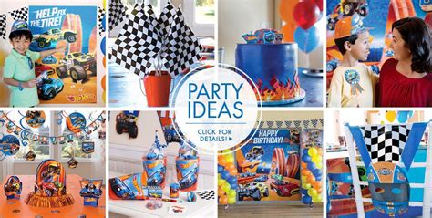 hot birthday themes hot wheels party supplies hot wheels birthday party city