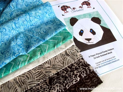 How To Make A Panda Out Of Paper - chris dodsley mbcd pattern testing for tartankiwi a