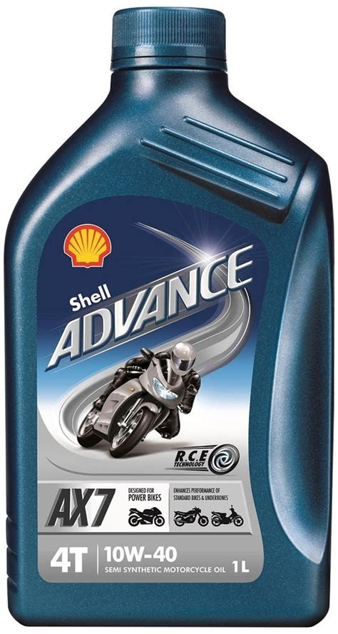 Shell Advance Ax 5 1 Liter 15w 40 shell advance ax7 10w 40 4t motorcycle engine semi synthetic 1 litre 1l ebay