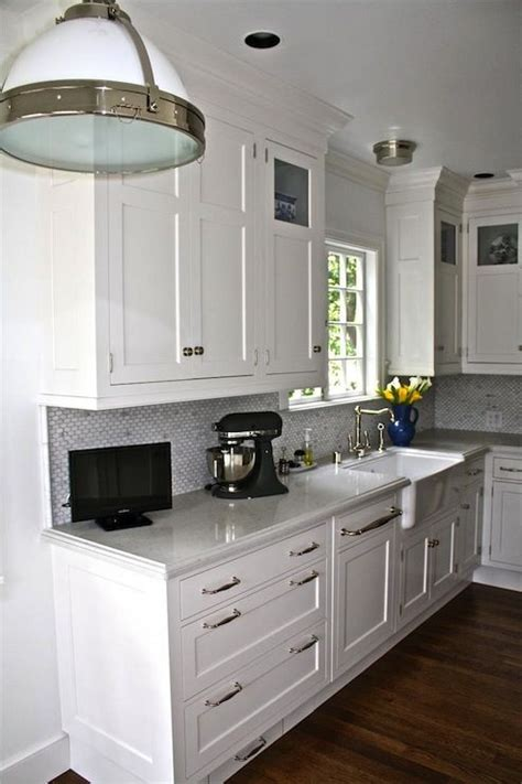 Hardware For White Kitchen Cabinets by White Shaker Cabinets Hardware Kitchen