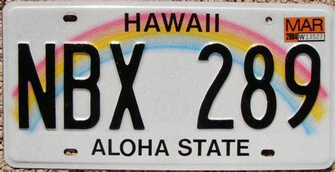 Vanity Plates Hawaii by Hawaii License Plates For Sale And Trade And Display At