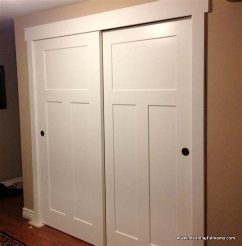 How To Make A Sliding Closet Door by 25 Best Ideas About Sliding Closet Doors On