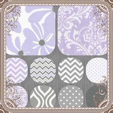 Purple Chevron Crib Bedding Crib Set Crib Bedding Baby Bedding Purple And Gray Chevron Twirly