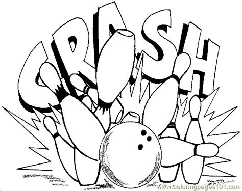Bowling Coloring Pages bowling printable coloring pages