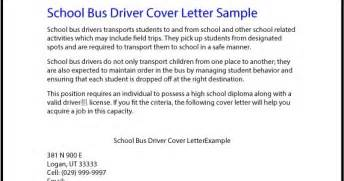 School Driver Cover Letter great sle resume school driver cover letter sle