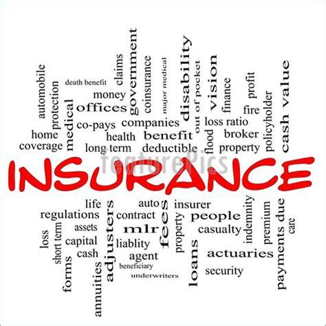Insurance Word Illustration