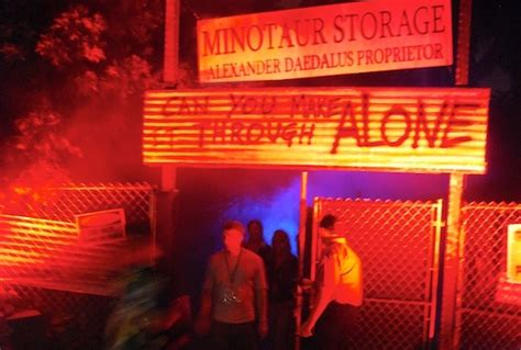 alone haunted house howl o scream s alone haunted house offers a unique personal experience