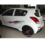 I20 Rear Left Qaurter  Indian Autos Blog