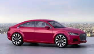 audi tt sportback concept revealed at motor show