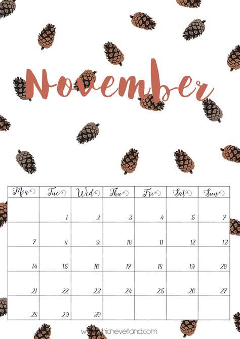Calendario Novembre Scarica E Sta I Calendari Gratuiti Di Ottobre E