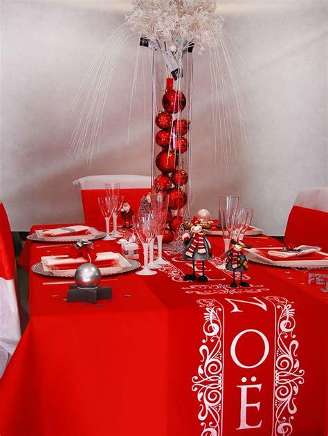 Les Plus Belles Décorations De Noel by Deco Table Noel Et Blanc Centre De Table