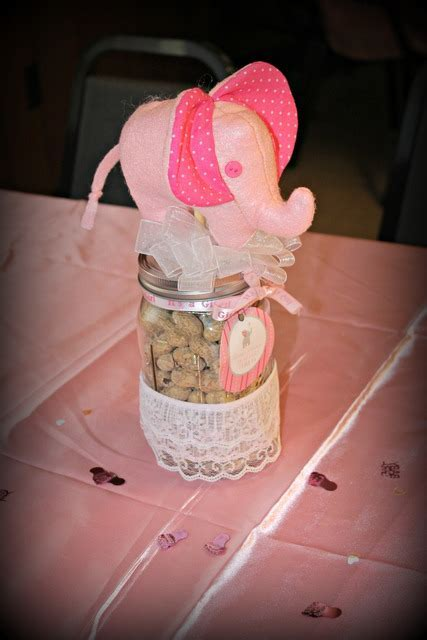 Pink Elephant Baby Shower   Elephant Theme Ideas With Cute Pictures!