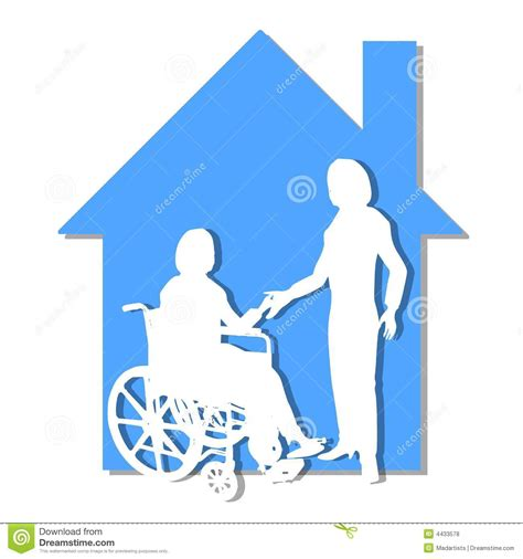 house of health home healthcare care support stock illustration image 4433578