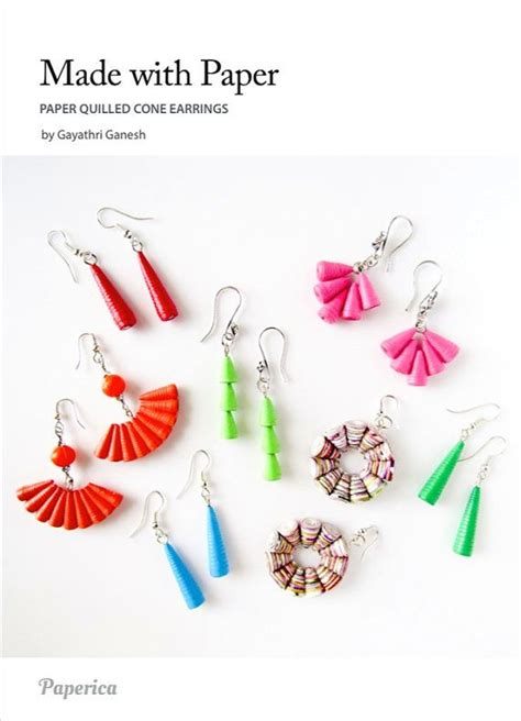 Paper Jewellery Tutorial - 340 best images about paperbeads on paper